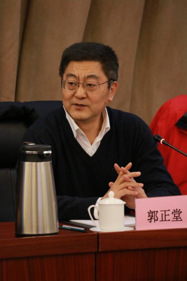 郭正堂副校长首先介绍了学校关于课程改革工作取得的成绩和未来设想