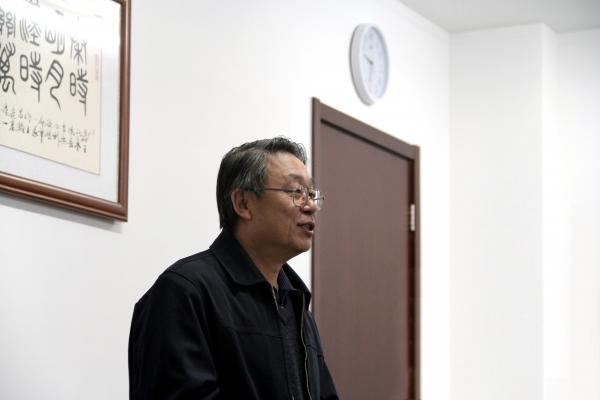 中国科学院大学地球科学学院孙文科副院长致词