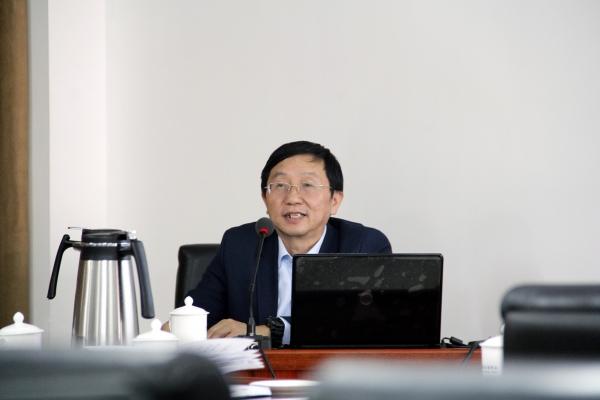 中国矿业大学(北京)地球科学与测绘工程学院唐跃刚院长报告